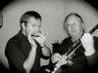 Ben Hewlett and Paul Lennon of Harmonicaworld