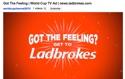 Ladbrooks ad